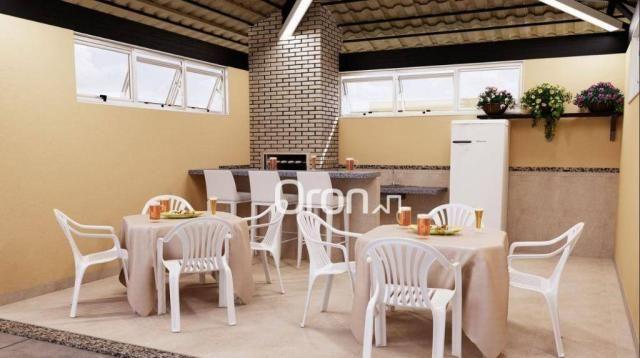 Apartamento com 2 dormitórios à venda, 54 m² por R$ 181.000,00 - Parque Oeste Industrial - - Foto 8
