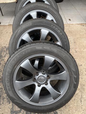 Rodas Hilux aro 20 Toyota ( rodas e pneus) menor valor!! - Foto 2