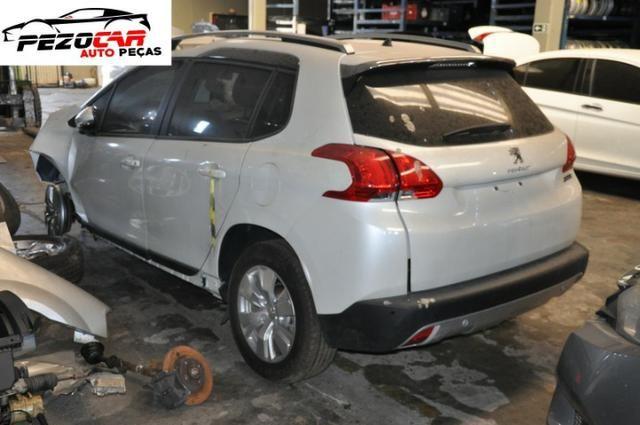 Sucata Peugeot 2008 Allure 1.6 16V Flex 2016/2017, para retirada de peças - Foto 2