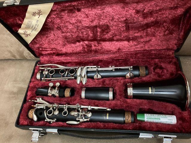 Clarinete Yamaha YCL351 Madeira - Foto 4
