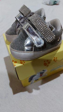 Kit 3 sapatos bebe - Foto 4