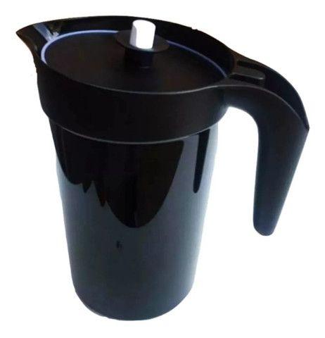 Jarra Colors 2 litros preta Original Tupperware