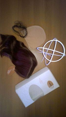 Peruca de cabelo humano - Foto 5