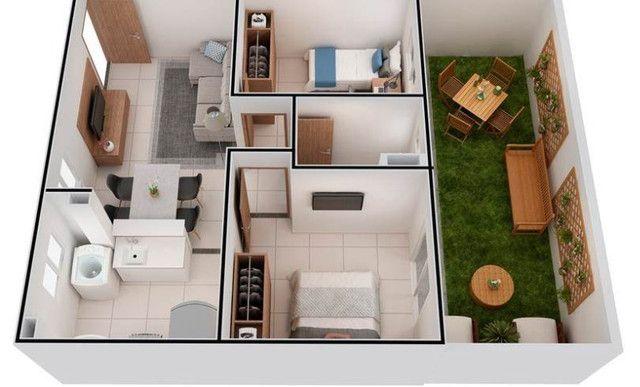 Cidade de berlim, com 2 dormitórios - Foto 2