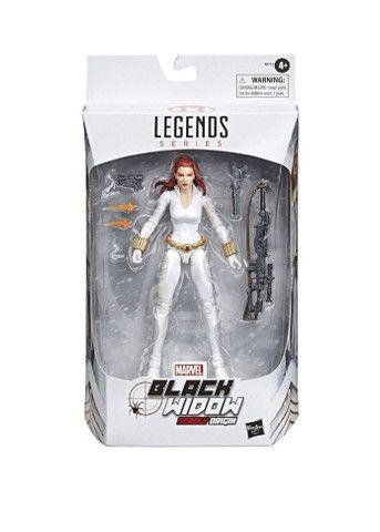Marvel Legends Viúva Negra Traje Branco  - Foto 2
