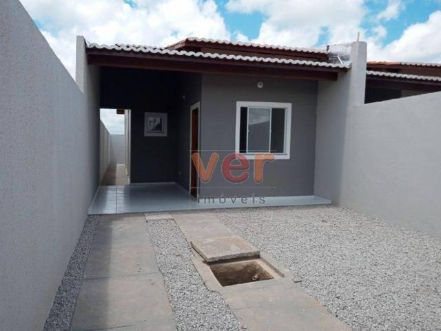 Casa com 2 dormitórios à venda, 81 m² por R$ 140.000,00 - Ancuri - Itaitinga/CE - Foto 2