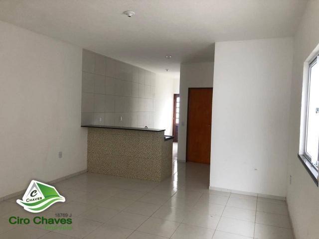 Casa com 2 dormitórios à venda, 80 m² por R$ 135.000 - Bairro: Novo Ancuri - Itaitinga/CE - Foto 3