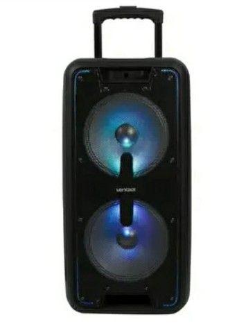 Caixa Amplificador Lenoxx 600w Bluetooth