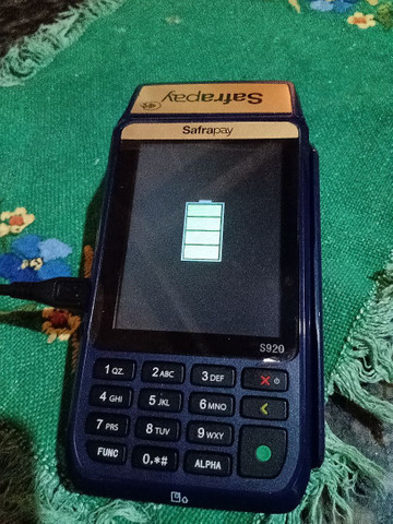 Vendo ou troco máquina safrapay por telefone