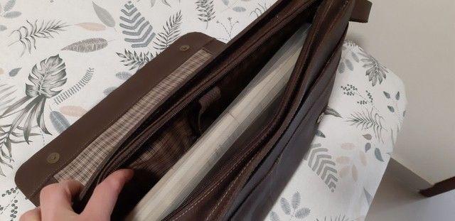Bolsa de couro marrom  Le postiche  - Foto 5