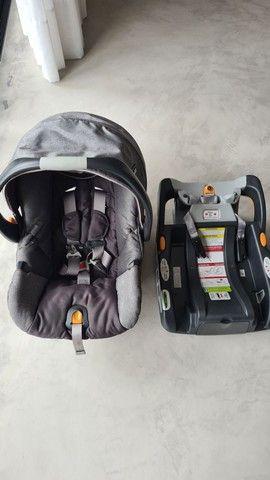 Chicco Bravo Carrinho Bebê Conforto Travel System 3 Em 1 - Foto 5