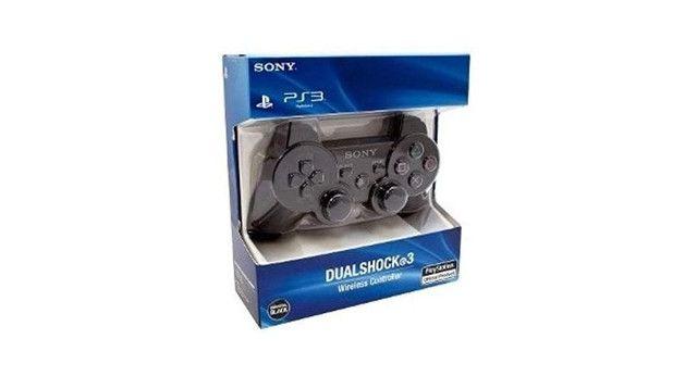 Controle Joystick Sem Fio Compativel Sony Dualshock 3 Black - Foto 3