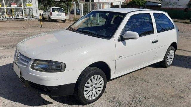 VW Gol 1.0 GIV 2009 Branco Completo, Exc. Estado.
