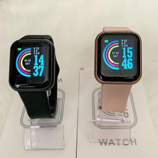 [PrOMOÇÃO] Smartwatch Relógio Inteligente D20/Y68 - Foto 3