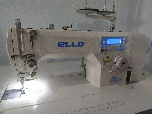Máquina de Costura Reta Eletrônica  - Foto 5