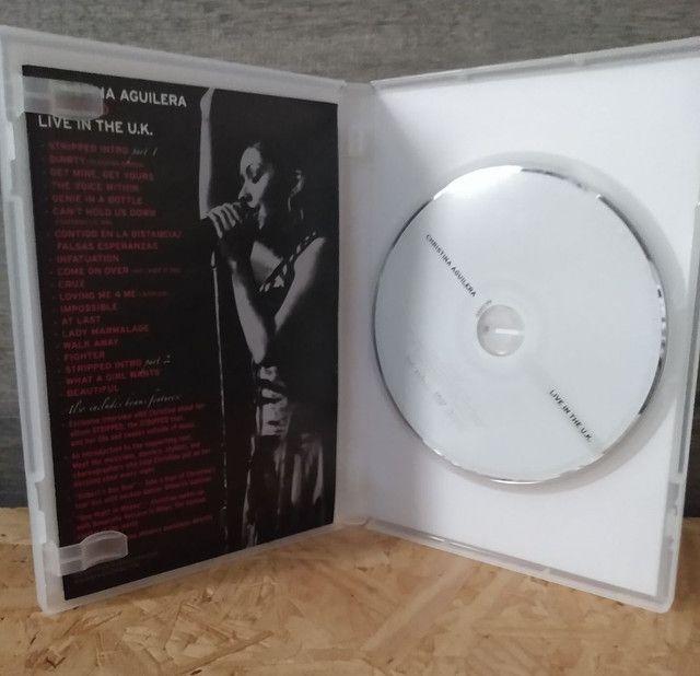 Dvd Christina Aguilera - Stripped Live In The UK - Foto 3