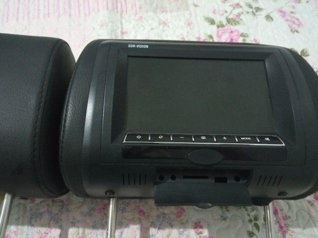 Encosto de cabeça com tela LCD  - Foto 2