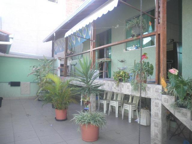 Casa com 3 dormitórios à venda, 248 m² por r$ 630.000,00 - santo andré - belo horizonte/mg