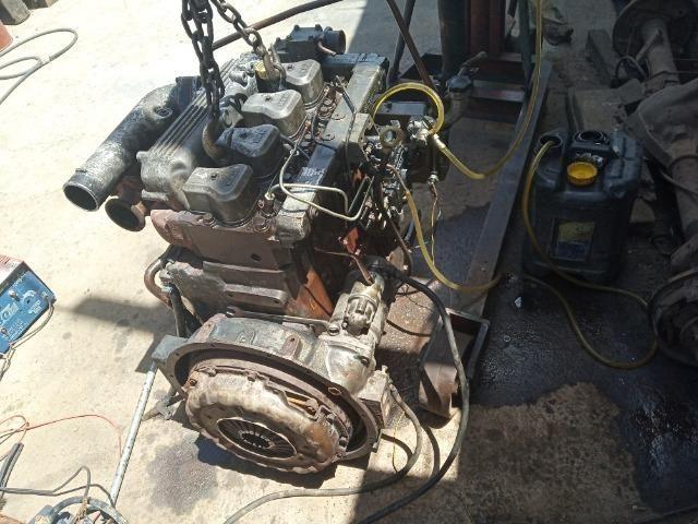 Bloco Limpo do Motor 04 Cil Mwm Série X10 F1000 F4000 - Foto 3