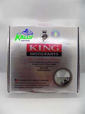 Kit relação titan 150 niteroi moto kallu motos - Foto 3