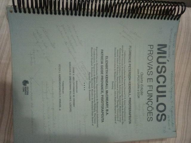 Livro universitário (xerox apostilada) - Músculos Provas e Funções - 4°edição