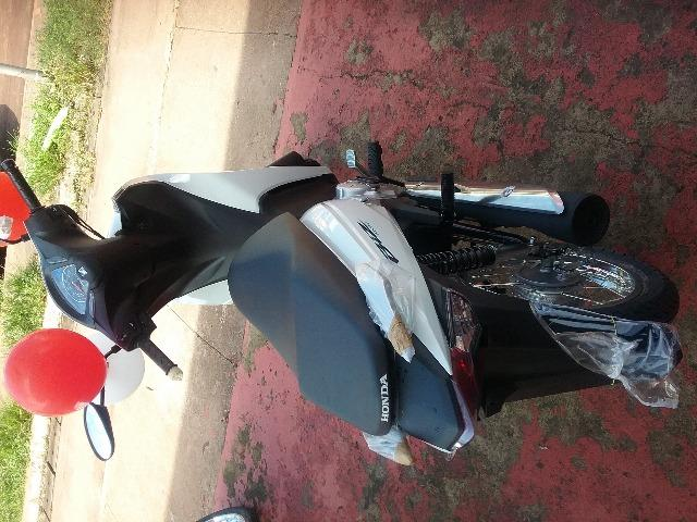 Honda Biz Moto Honda OKm Nova sem entrada com facilidade de aprovação rápida e barata - Foto 3
