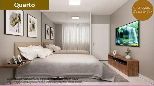 Vendo Linda Casa no Vila Smart Brisas do Rio 02 quartos com 39,62m2 - Foto 6