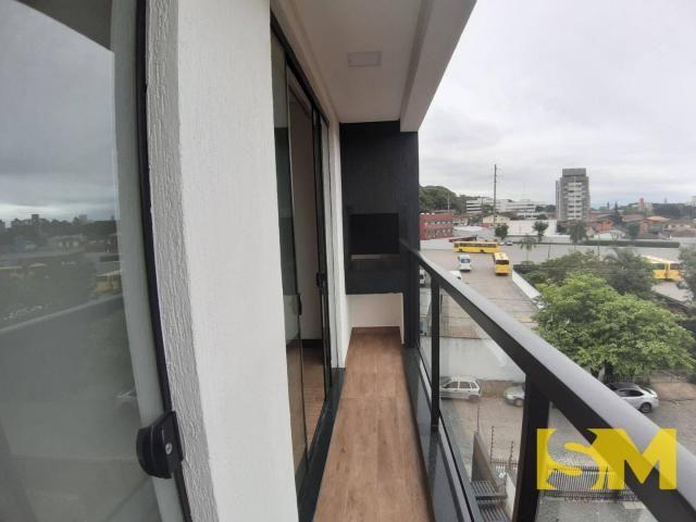 Apartamento com 2 dormitórios para alugar, 72 m² por R$ 1.700/mês - Bom Retiro - Joinville - Foto 9