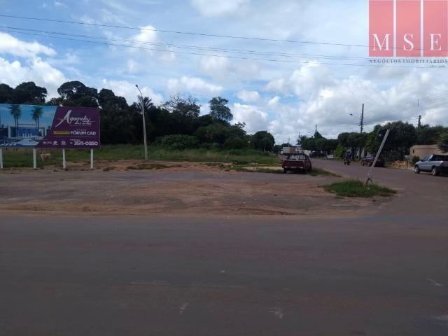 Área com frente para avenida das Palmeiras