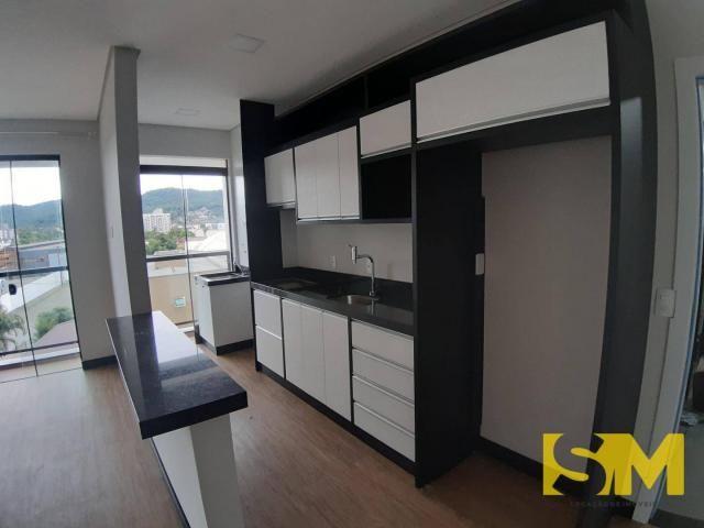 Apartamento com 2 dormitórios para alugar, 72 m² por R$ 1.700/mês - Bom Retiro - Joinville - Foto 3