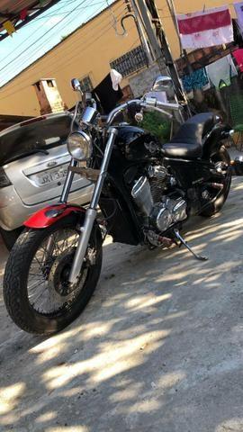Moto Shadow 600 - Troco por XRE 300 - Foto 4