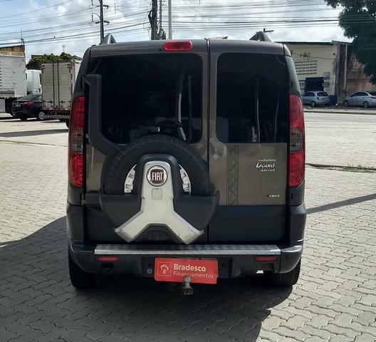 Fiat Doblo adventure 1.8 xingu locker 6 lugares ano 2013 - Foto 5