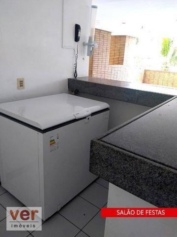 Apartamento à venda, 90 m² por R$ 349.000,00 - Cocó - Fortaleza/CE - Foto 14