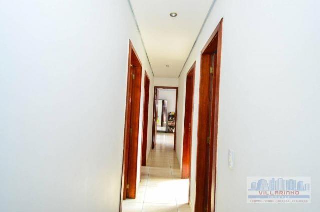 Villarinho vende casa com 3 dormitórios, 1 suíte,124 m² aréa const- terreno 300m² -600.000 - Foto 11