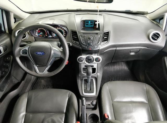 Fiesta 1.6 automático power shift 2014. Completo banco de couro,rodas e ar digital - Foto 15