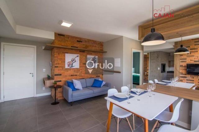 Apartamento com 2 dormitórios à venda, 61 m² por R$ 445.900,00 - São Sebastião - Porto Ale - Foto 2