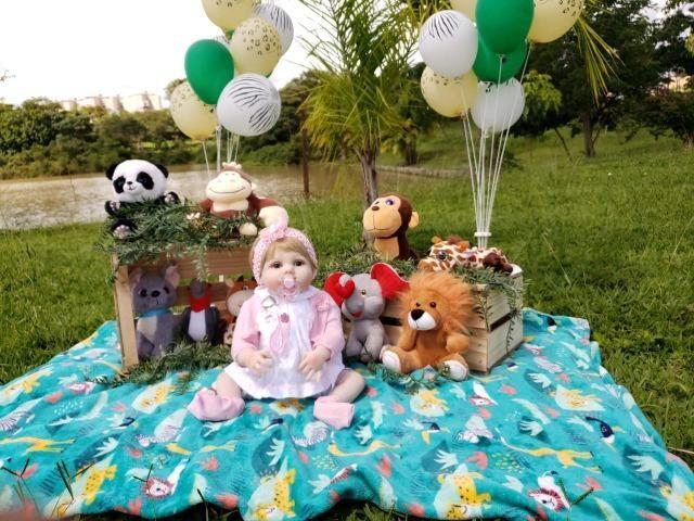 Bebê Reborn - Acessórios Exclusivos! - Foto 2