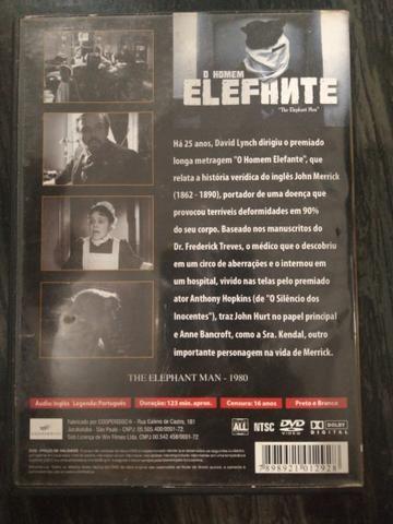 DVD O Homem Elefante - Foto 2