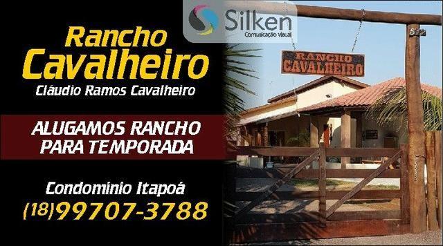 ALUGO Rancho Cavalheiro no Condomínio Itapoã Araçatuba - Foto 16