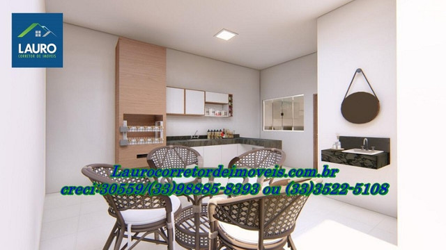 Casa com 03 qtos sendo 01 suíte no Castro Pires - Foto 11