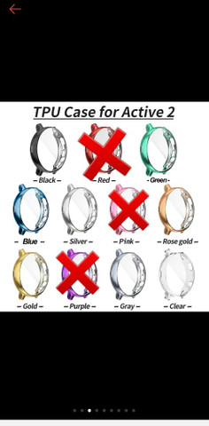 Case de proteção relógio Galaxy Watch Active 2 - Foto 3