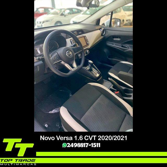 Novo Nissan Versa Advance 1.6 CVT 2021 0km - Foto 3