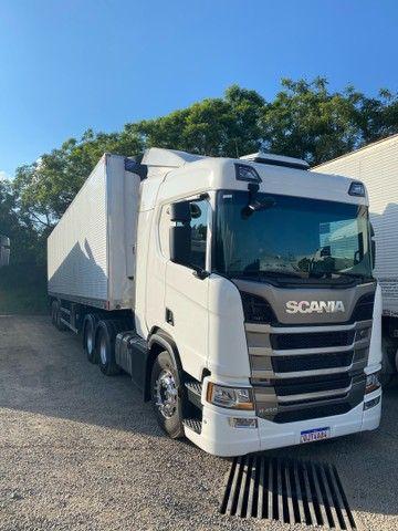 SCANIA R450 6x2 ano 2019
