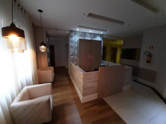 Apartamento com 1 dormitório para alugar, 45 m² por R$ 1.350,00/mês - Zona 07 - Maringá/PR - Foto 13