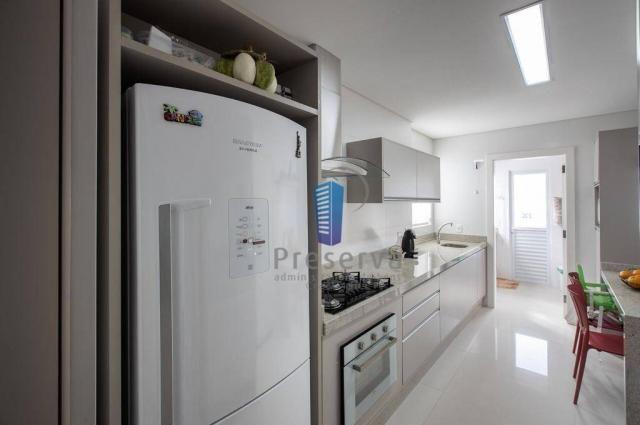 Apartamento totalmente mobiliado e equipado, na Av. Central em Balneário Camboriú/SC, com  - Foto 14