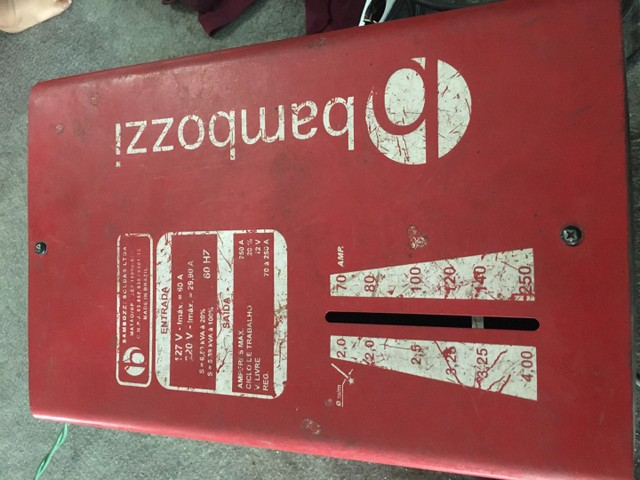 Maquina de solda bambozzi  - Foto 5