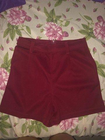 Short bengaline vermelho - Foto 2