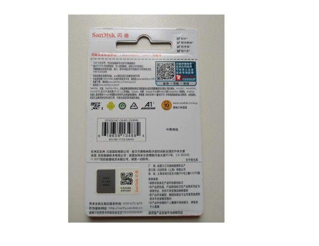 Cartão De Memória 64gb Micro Sd Sandisk Ultra - Classe 10, 12x Sem Juros  - Foto 2