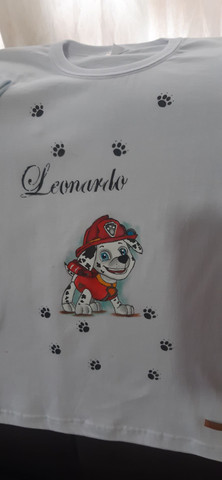 Fraldas e camisetas  personalizadas  - Foto 3