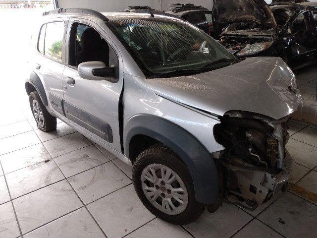 Sucata Fiat uno Vivace way 1.4 2013 - Foto 5